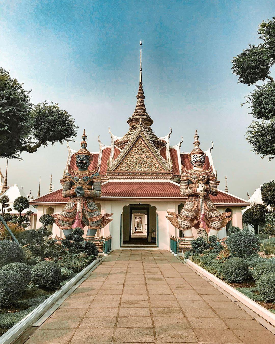 Đến Bangkok nhất định phải ghé thăm 3 cung điện siêu thực này - Ảnh 6.