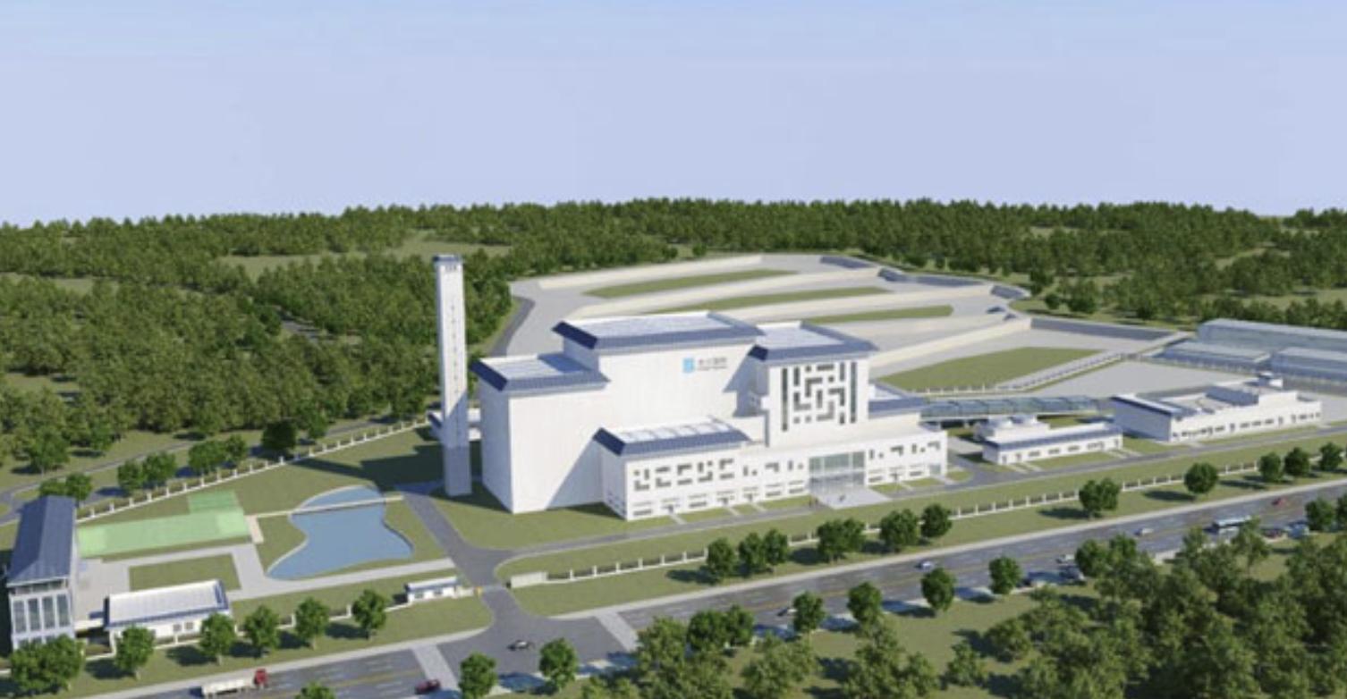 Phối cảnh dự án Nhà máy đốt rác phát điện Khánh Sơn