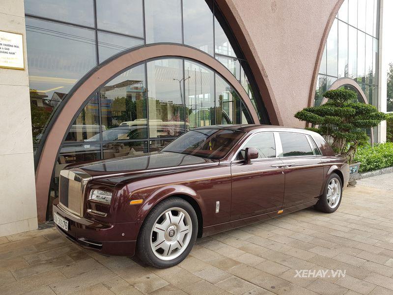 Rolls-Royce Phantom Mặt trời phương Đông 43 tỉ đồng của 'Đại gia điếu cày' Lê Thanh Thản - Ảnh 1.