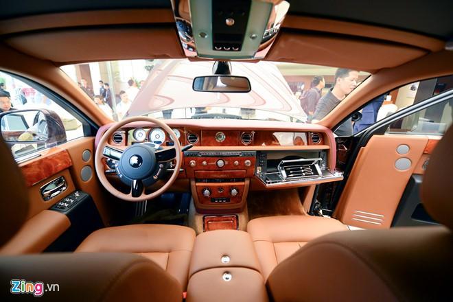 Rolls-Royce Phantom Mặt trời phương Đông 43 tỉ đồng của 'Đại gia điếu cày' Lê Thanh Thản - Ảnh 5.