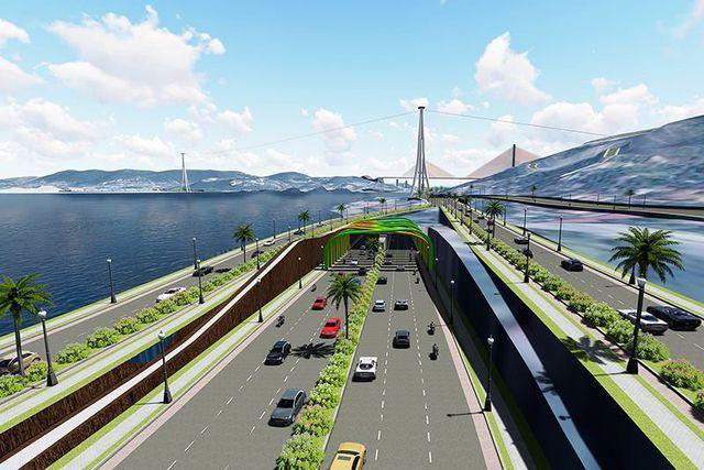 Chuẩn bị xây hầm xuyên biển lớn nhất Việt Nam, Quảng Ninh tiết kiệm 2.000 tỷ đồng/năm - Ảnh 3.