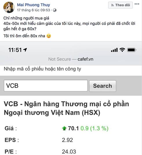 Khoe đầu tư, Hoa hậu Mai Phương Thúy bị nghi là 'chim mồi', 'đội lái giật dây' - Ảnh 1.