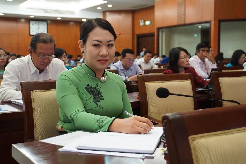Nữ đại biểu HĐND rất buồn vì sáng kiến 'lu chống ngập' bị hiểu sai, chế giễu - Ảnh 1.