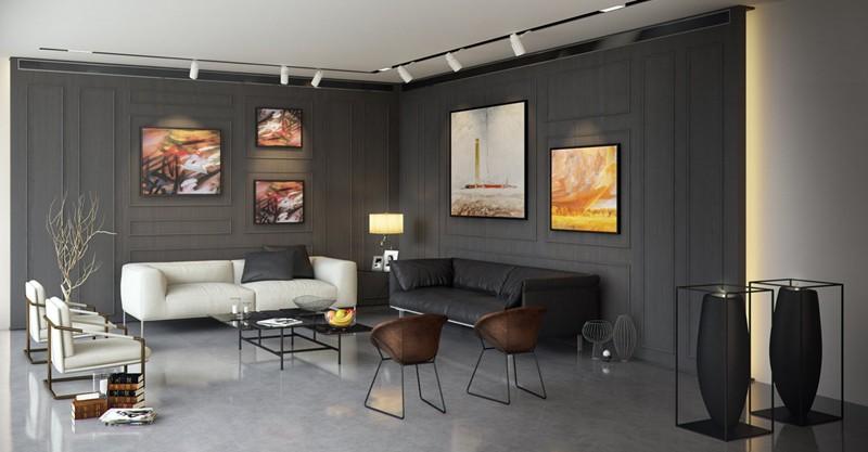 Mẫu phòng khách đẹp dành cho nhà phố - Ảnh 7.