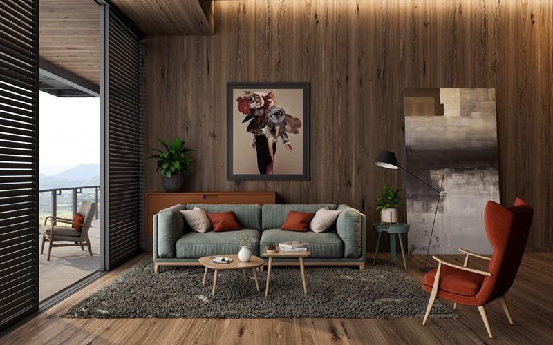Mẫu phòng khách đẹp dành cho nhà phố - Ảnh 8.