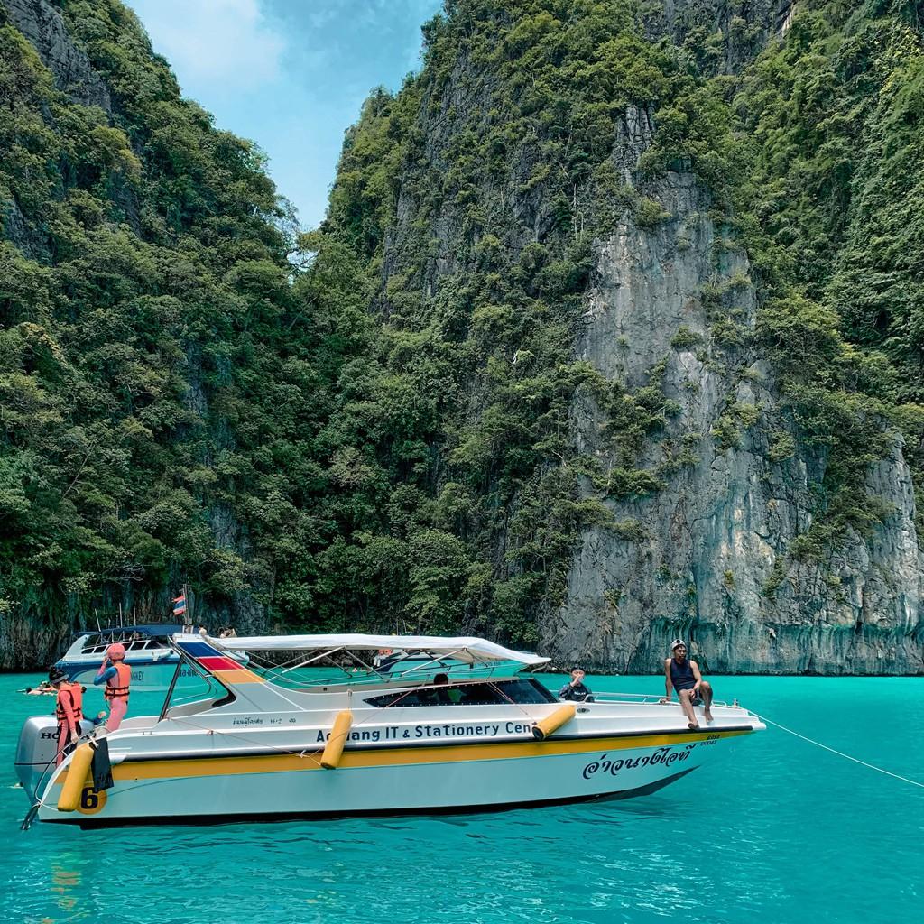 Lần đầu du lịch Thái, đến ngay thiên đường biển xanh như ngọc ở Krabi - Ảnh 3.