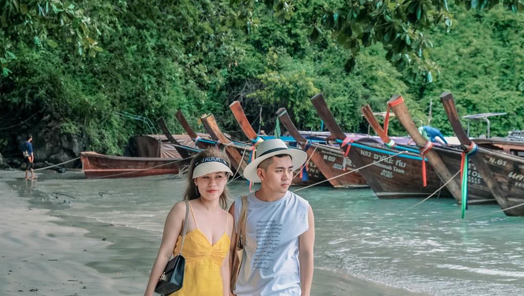 Lần đầu du lịch Thái, đến ngay thiên đường biển xanh như ngọc ở Krabi - Ảnh 4.