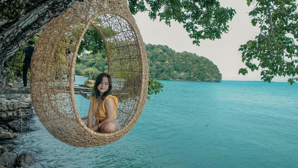 Lần đầu du lịch Thái, đến ngay thiên đường biển xanh như ngọc ở Krabi - Ảnh 5.