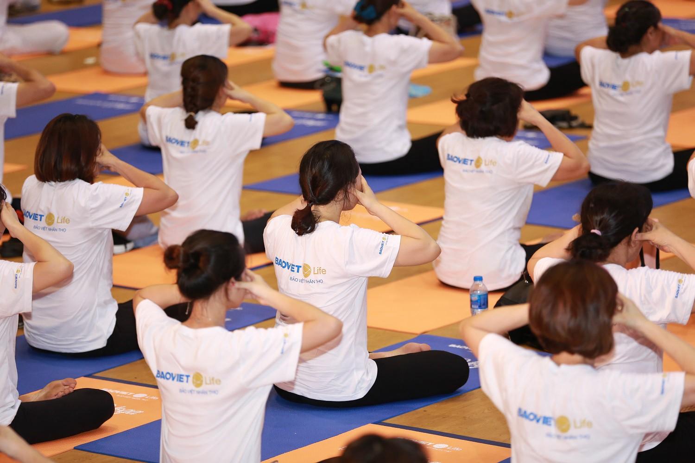 Yoga mang lại sự thư thái, an lạc cho tinh thần.