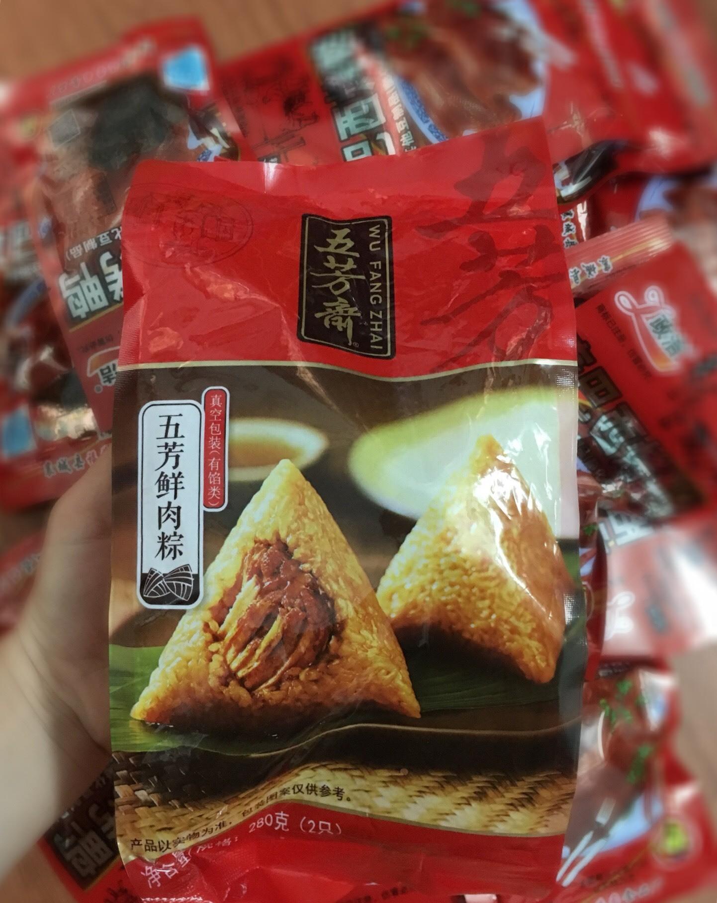 Đáng sợ, bánh chưng nội địa Trung Quốc 9 tháng không hỏng - Ảnh 1.