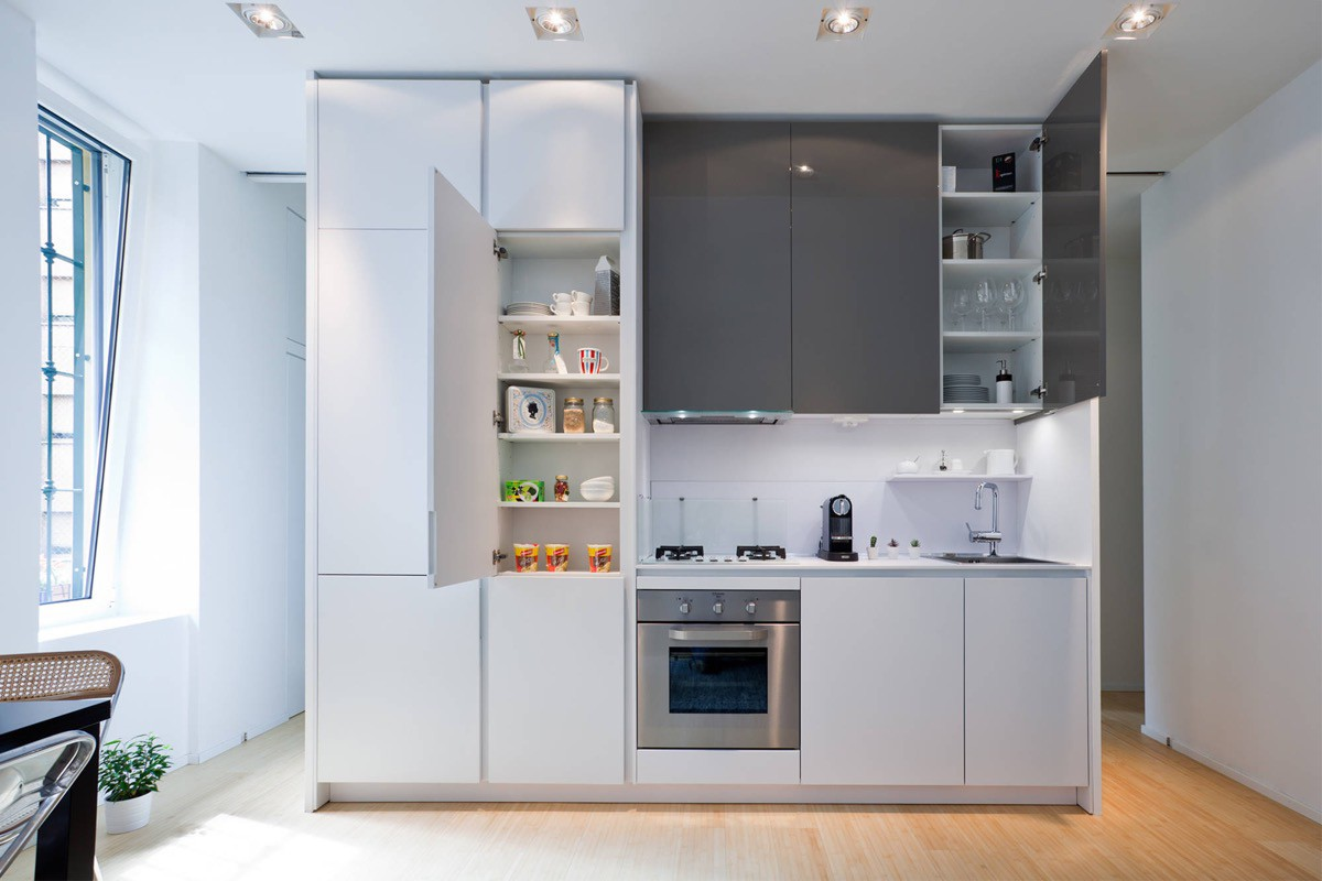 small-one-wall-kitchen-ideas