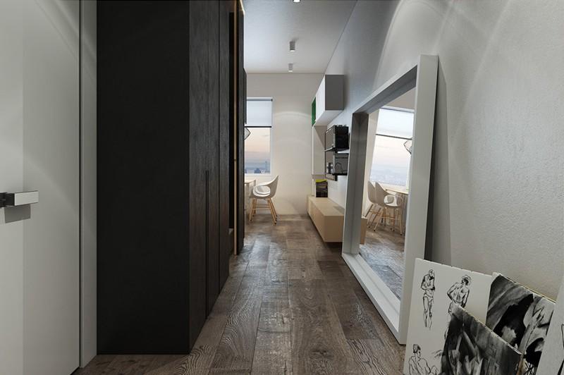 Căn hộ nhỏ có cách sắp xếp nội thất ấm cúng - Ảnh 5.