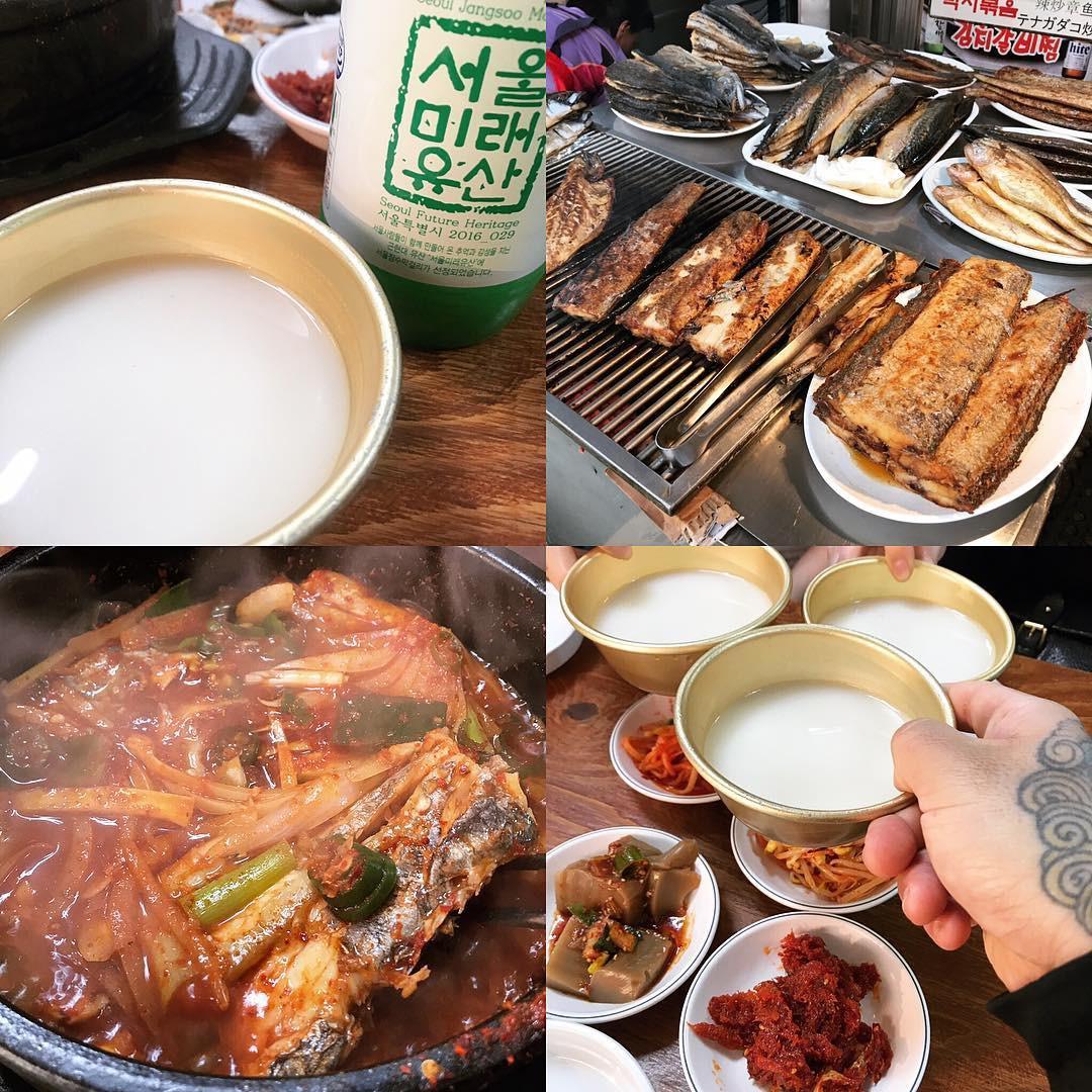 Không thể cưỡng lại sức hấp dẫn của 7 khu phố ẩm thực nổi tiếng nhất Seoul, Hàn Quốc - Ảnh 1.