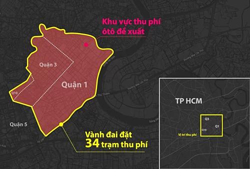 Đề án thu phí ôtô vào trung tâm TP HCM học từ Thụy Điển, Singapore - Ảnh 1.