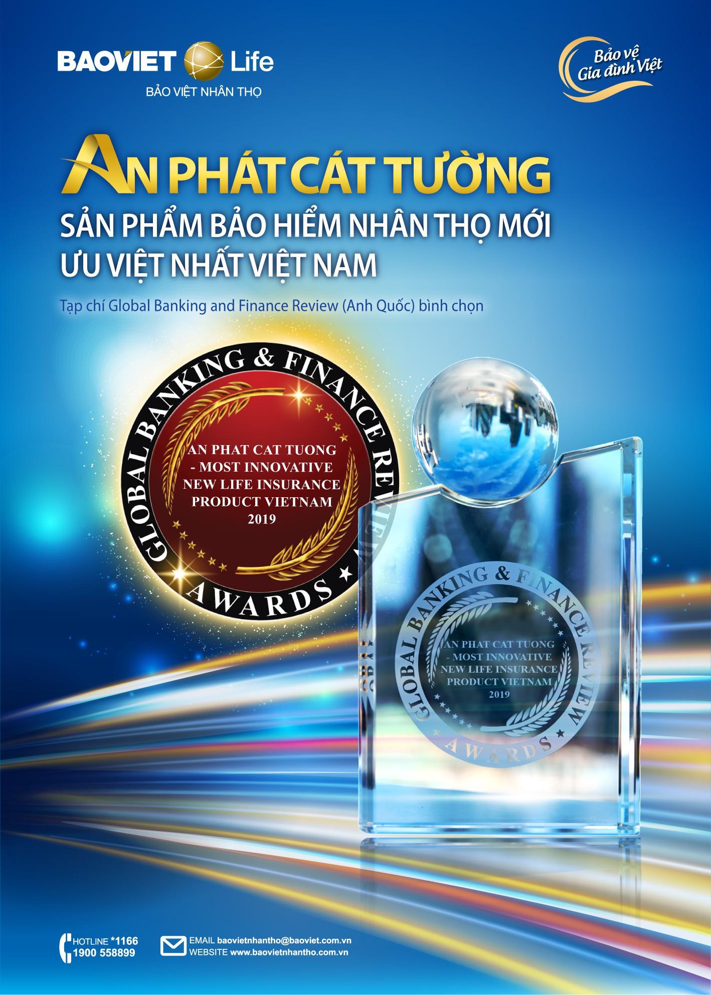 An Phát Cát Tường - Sản phẩm bảo hiểm nhân thọ mới ưu việt nhất Việt Nam 2019 (2)