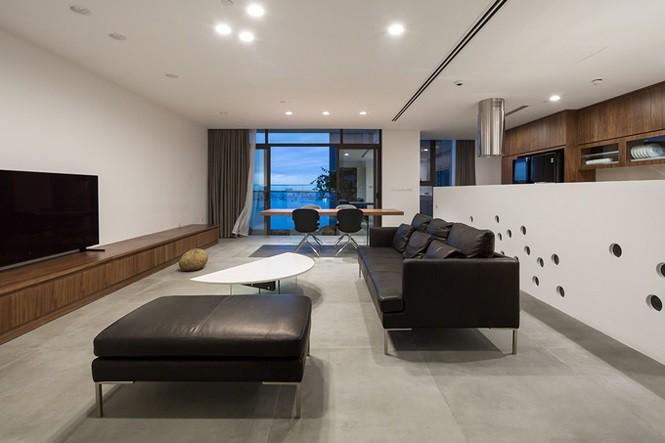 Gia chủ Hà Nội gộp hai căn hộ thành một 'biệt thự trên không' - Ảnh 1.