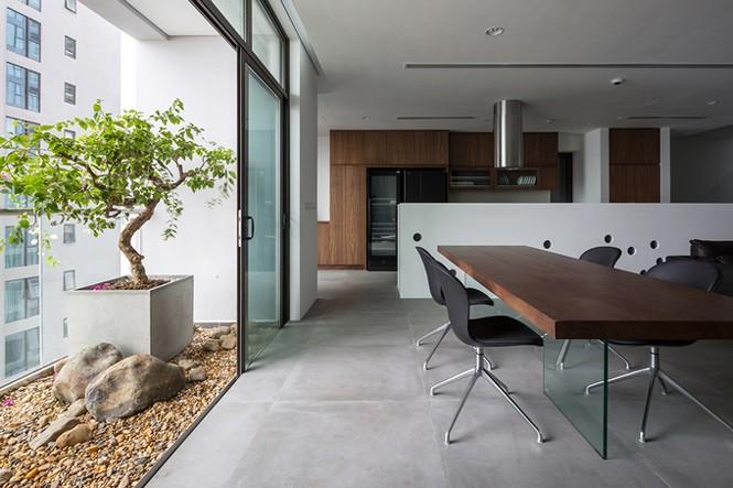 Gia chủ Hà Nội gộp hai căn hộ thành một 'biệt thự trên không' - Ảnh 3.