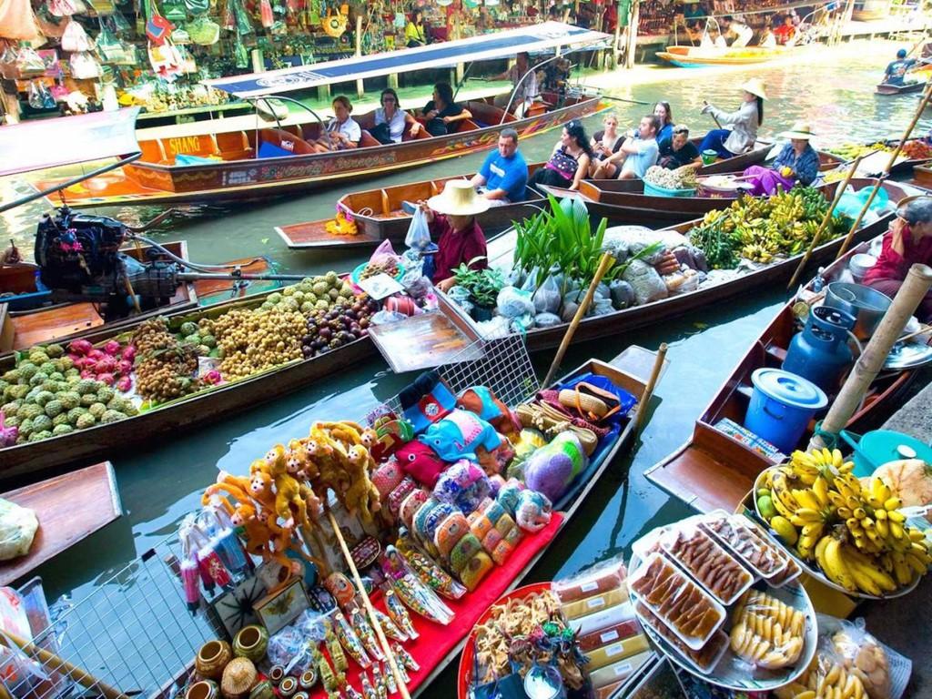 chợ-nổi-như-Damnoen-Saduak