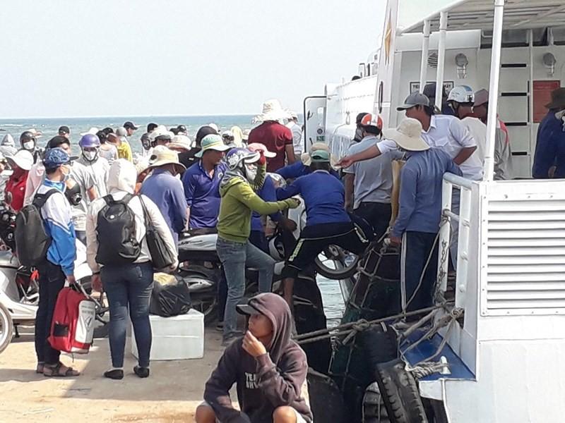 Đề xuất thu phí tham quan đảo Lý Sơn - Ảnh 1.