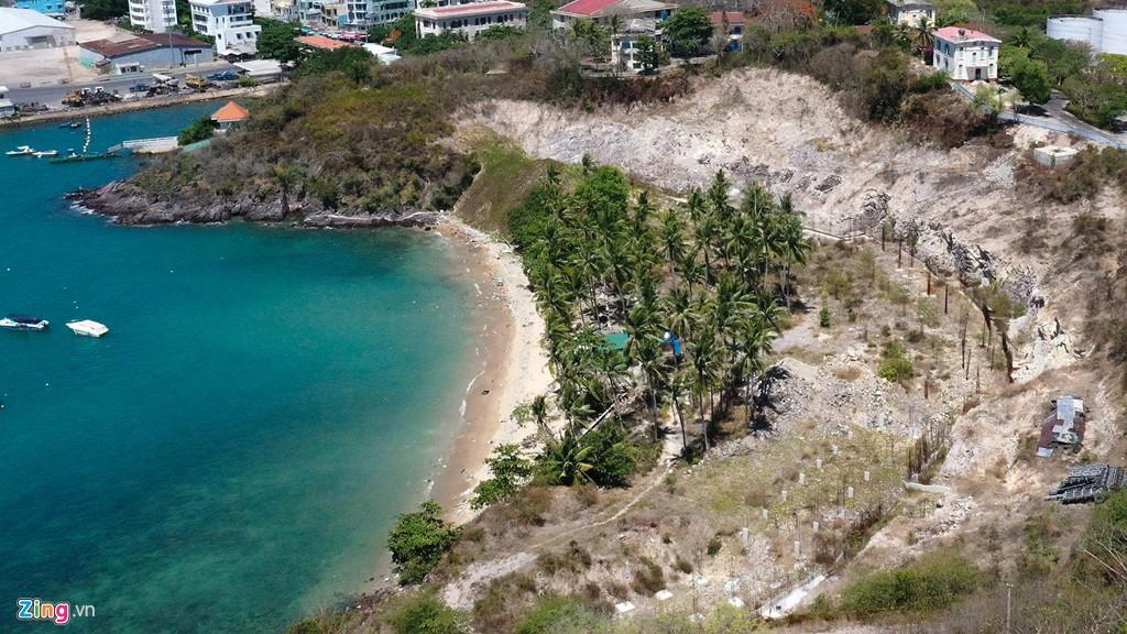La liệt các vụ 'cạo trọc' núi ở Nha Trang để làm bất động sản - Ảnh 3.