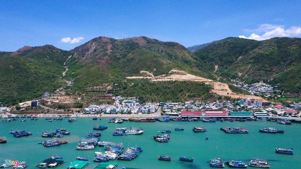 La liệt các vụ 'cạo trọc' núi ở Nha Trang để làm bất động sản - Ảnh 8.
