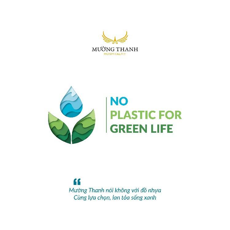 Mường Thanh triển khai chiến dịch nói không với đồ nhựa - Ảnh 1.