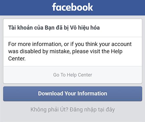 Dịch vụ 'phá' nick Facebook với giá từ 70.000 đồng - Ảnh 1.