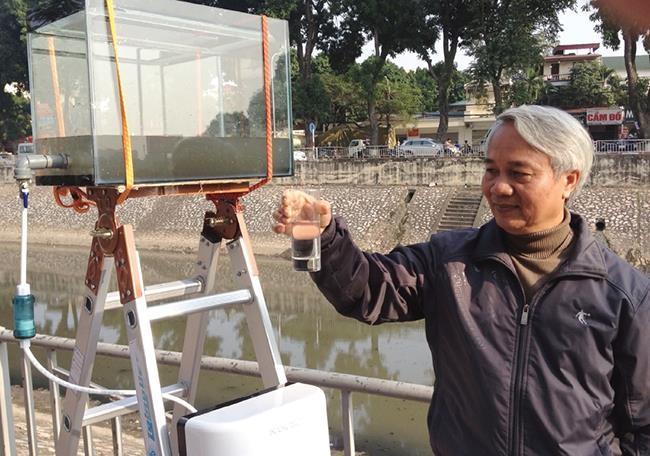 Chuyên gia Việt kể chuyện xử lí sông Tô Lịch sạch đến mức uống được - Ảnh 1.
