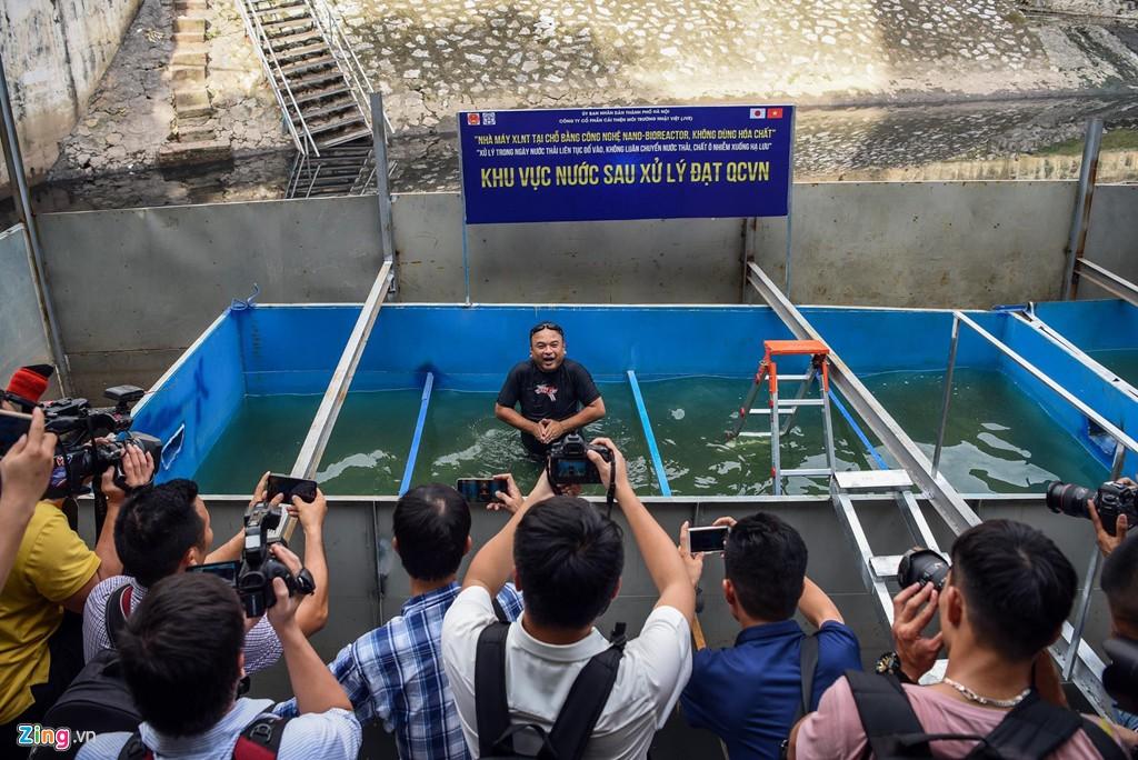 Chuyên gia Việt kể chuyện xử lí sông Tô Lịch sạch đến mức uống được - Ảnh 2.