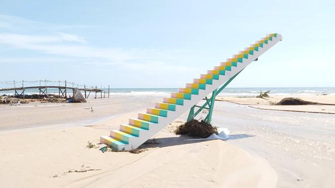 Đoạn bờ biển Phú Quốc tan hoang sau hai trận ngập lịch sử - Ảnh 13.