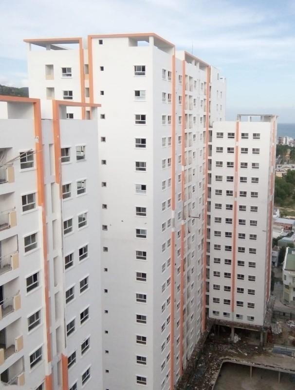 Nhà ở xã hội Hoàng Quân - Nha Trang: Chưa giao nhà đã xin tăng giá - Ảnh 1.