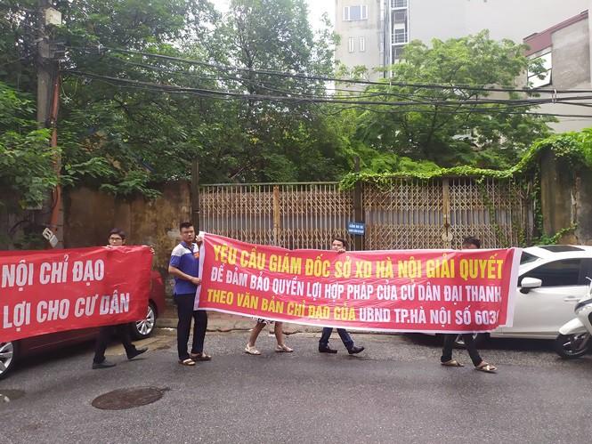 Hà Nội đối thoại với cư dân mua nhà của 'đại gia điếu cày' - Ảnh 3.