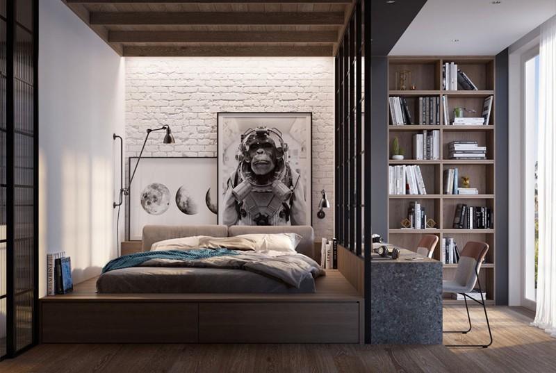 Phòng ngủ cá tính dành cho thanh thiếu niên - Ảnh 1.