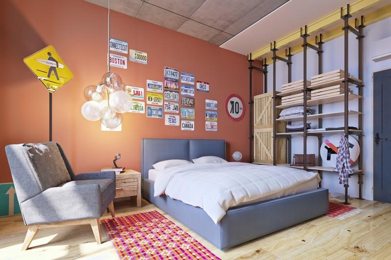 Phòng ngủ cá tính dành cho thanh thiếu niên - Ảnh 10.