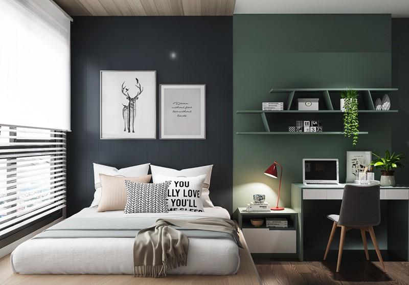 Phòng ngủ cá tính dành cho thanh thiếu niên - Ảnh 4.