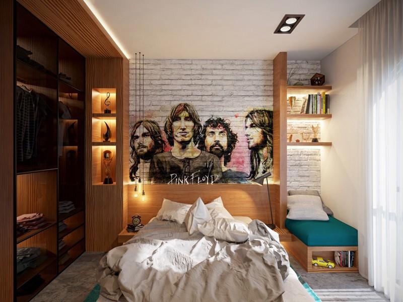 Phòng ngủ cá tính dành cho thanh thiếu niên - Ảnh 6.