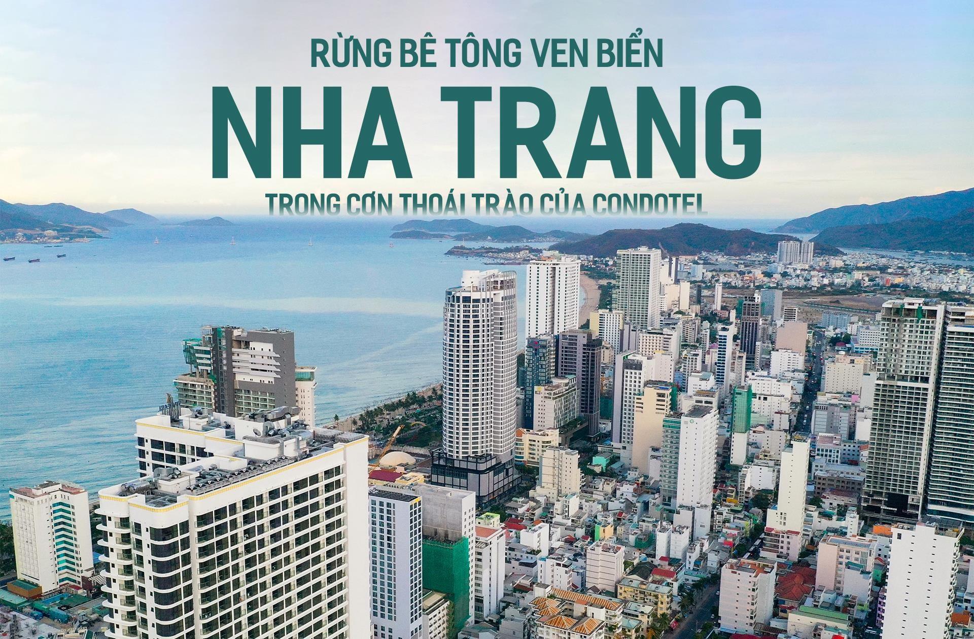 Rừng bê tông ven biển Nha Trang trong cơn thoái trào của condotel - Ảnh 1.
