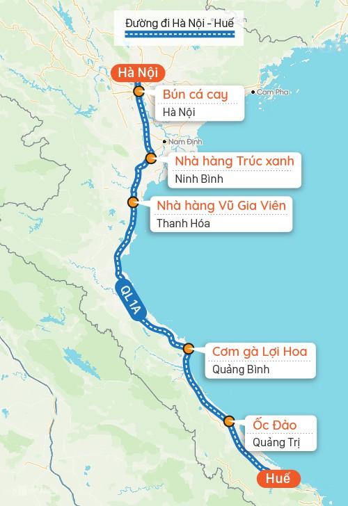 Gợi ý quán ăn trên đường từ Hà Nội đi Huế - Ảnh 3.