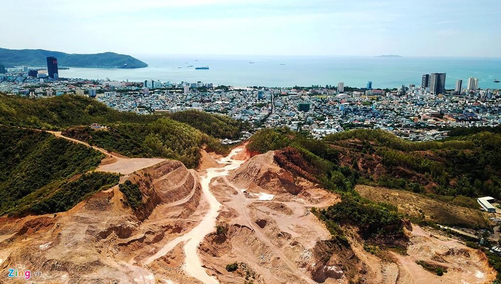 Cận cảnh khu đô thị 5.000 tỷ sai phạm ở phố biển Quy Nhơn - Ảnh 5.
