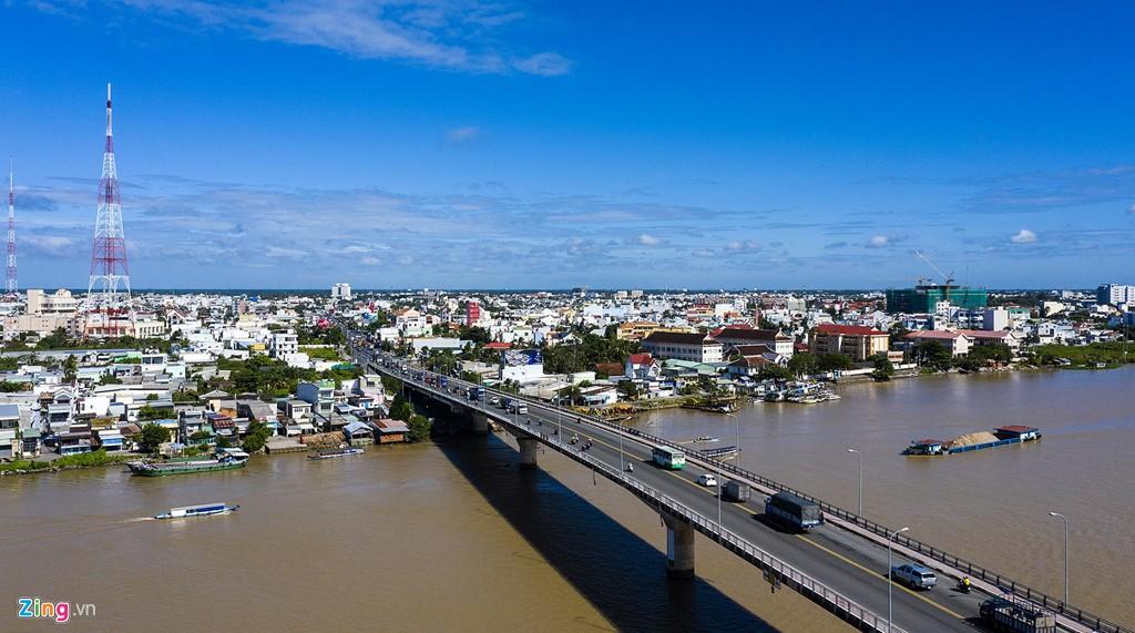 Hệ thống kênh đào đẹp hàng đầu thế giới ở Cần Thơ nhìn từ trên cao - Ảnh 7.