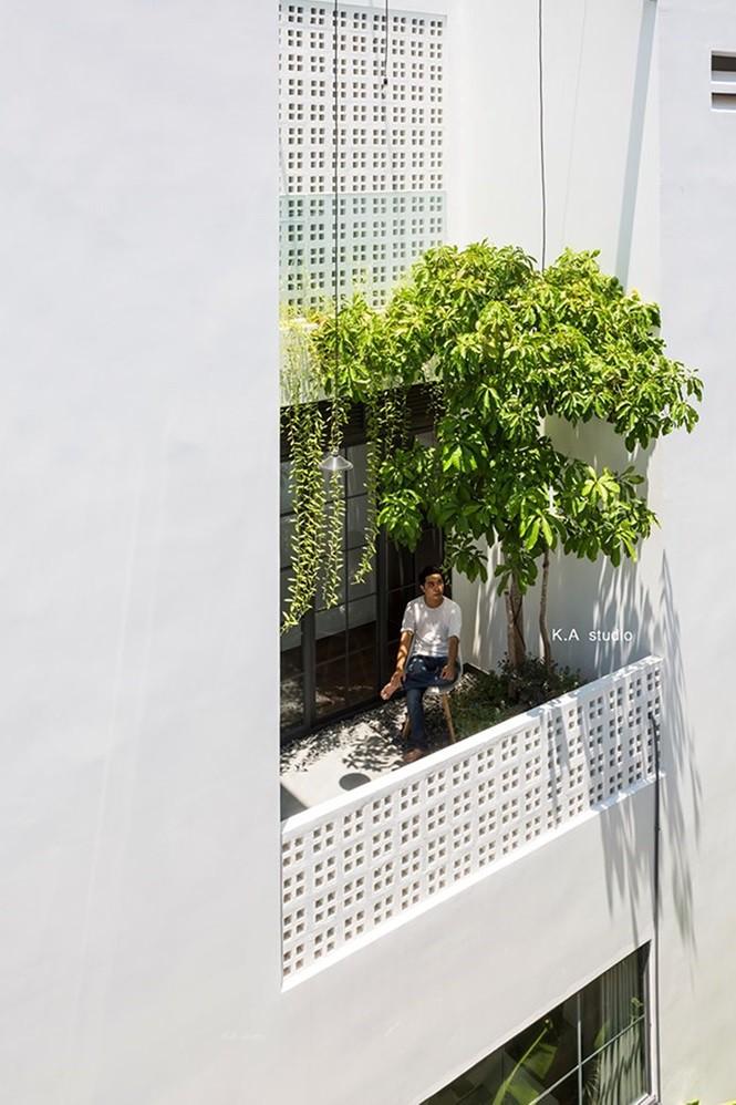 Ngôi nhà phố ở Nha Trang thiết kế phá cách đẹp ngỡ ngàng - Ảnh 2.