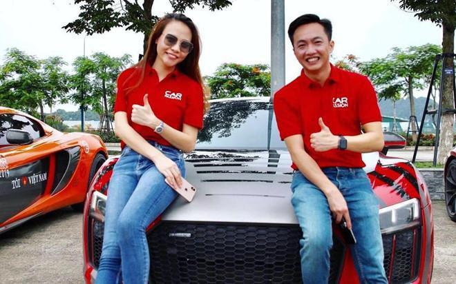 Sau đám cưới Đàm Thu Trang, Cường Đôla rao bán siêu xe Audi R8 V10 Plus - Ảnh 1.