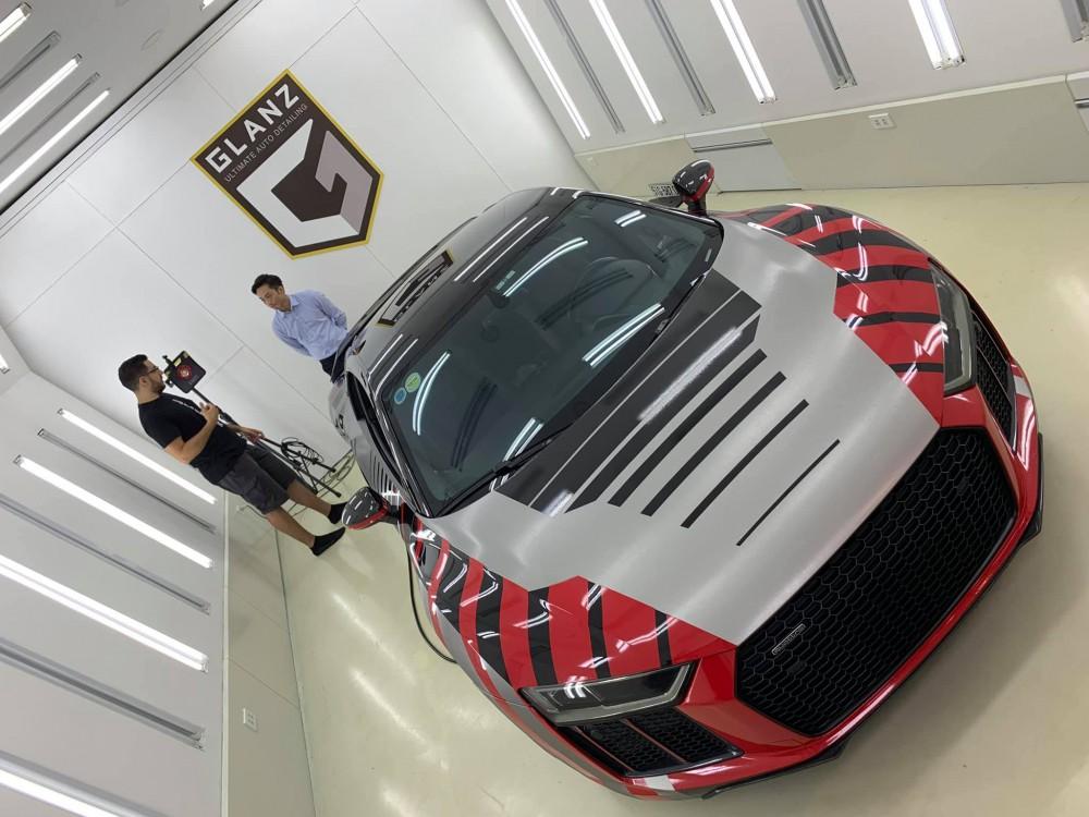 Sau đám cưới Đàm Thu Trang, Cường Đôla rao bán siêu xe Audi R8 V10 Plus - Ảnh 2.