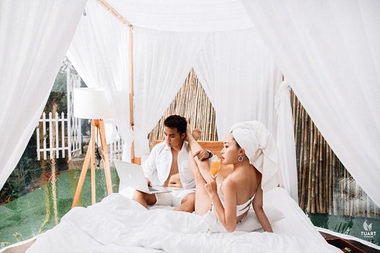 Cực hot: Xuất hiện khách sạn bong bóng ở Đà Lạt 'chất' không kém Bali - Ảnh 6.
