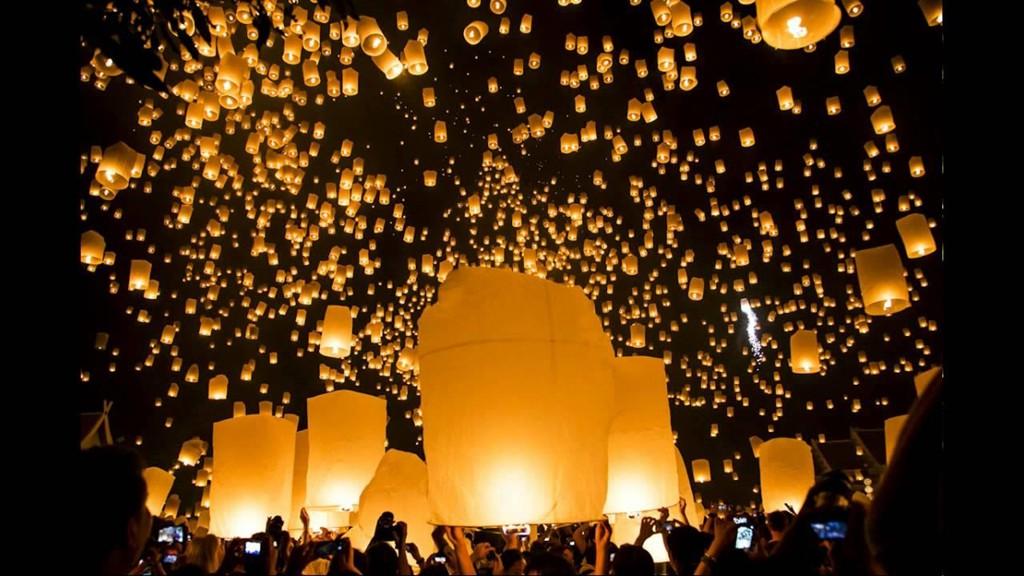 Tháng 11, Thái Lan hóa miền cổ tích trong lễ hội thả đèn trời - Ảnh 4.