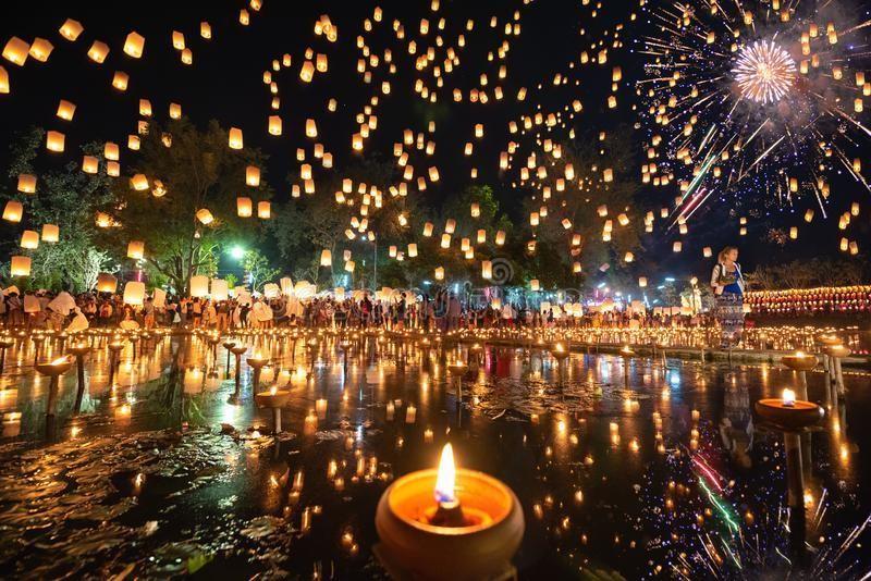 Tháng 11, Thái Lan hóa miền cổ tích trong lễ hội thả đèn trời - Ảnh 5.