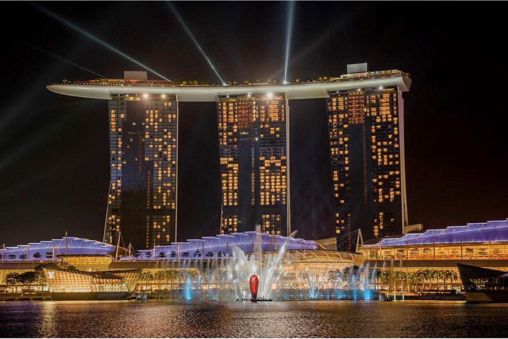 Độ sang chảnh của khu nghỉ dưỡng nổi tiếng nhất Singapore - Ảnh 1.