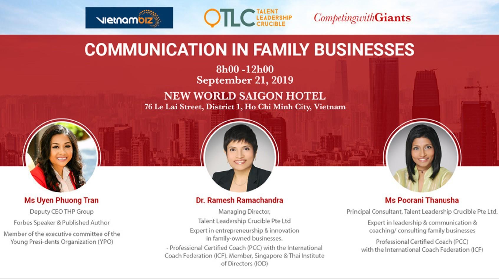 Hội thảo 'Truyền thông trong doanh nghiệp gia đình': nơi gỡ rối cho những người chủ và con cái trong công ty gia đình - Ảnh 1.