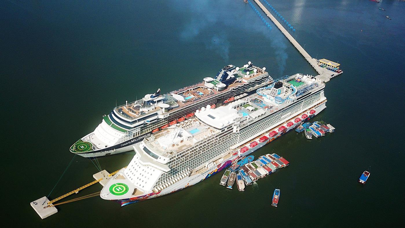 Hạ Long đón đầu nguồn thu 'khủng' từ dòng khách du lịch tàu biển - Ảnh 1.