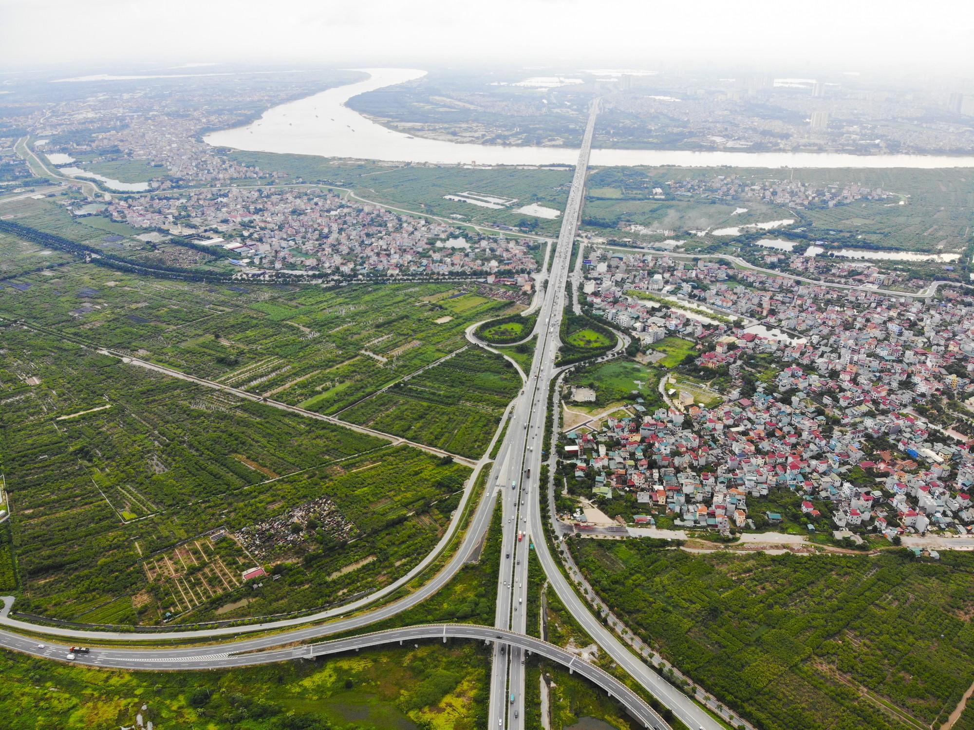 Những giao lộ khổng lồ thay đổi diện mạo cửa ngõ Thủ đô - Ảnh 11.
